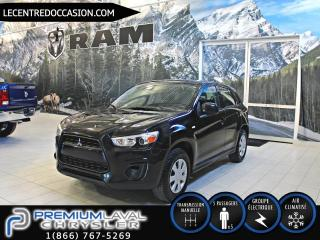 Used 2013 Mitsubishi RVR ES*GROUPE ELECTRIQUE/MANUEL* for sale in Laval, QC
