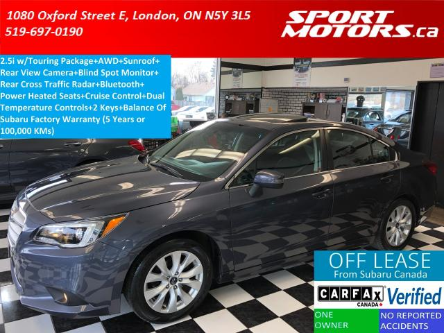 2016 Subaru Legacy 2.5i AWD+Camera+Sunroof+Blind Spot Monitor+A/C