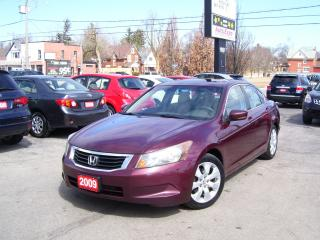 Used 2009 Honda Accord EX,Auto,A/C,Sunroof,Alloys,Key Less,No Accident for sale in Kitchener, ON