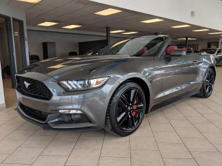 Used 2015 Ford Mustang Convertible Eco Premium Cuir GPS for sale in Pointe-Aux-Trembles, QC
