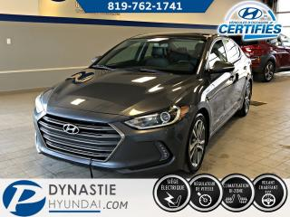 Used 2017 Hyundai Elantra LTD for sale in Rouyn-Noranda, QC