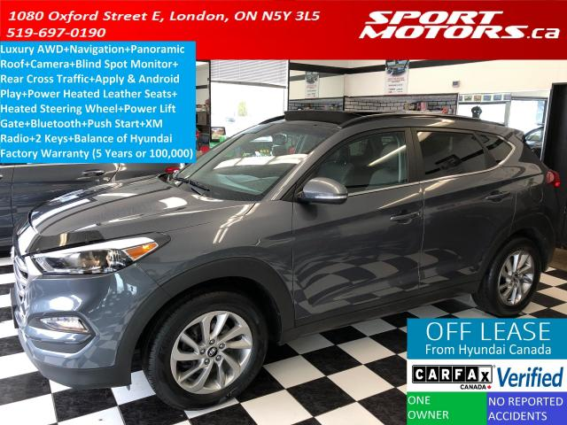 2016 Hyundai Tucson Luxury AWD+Apply & Android Play+Blind Spot Monitor