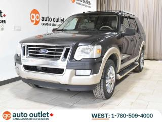 Used 2007 Ford Explorer Eddie Bauer 4WD, 7 Passenger, Heated leather seats for sale in Edmonton, AB