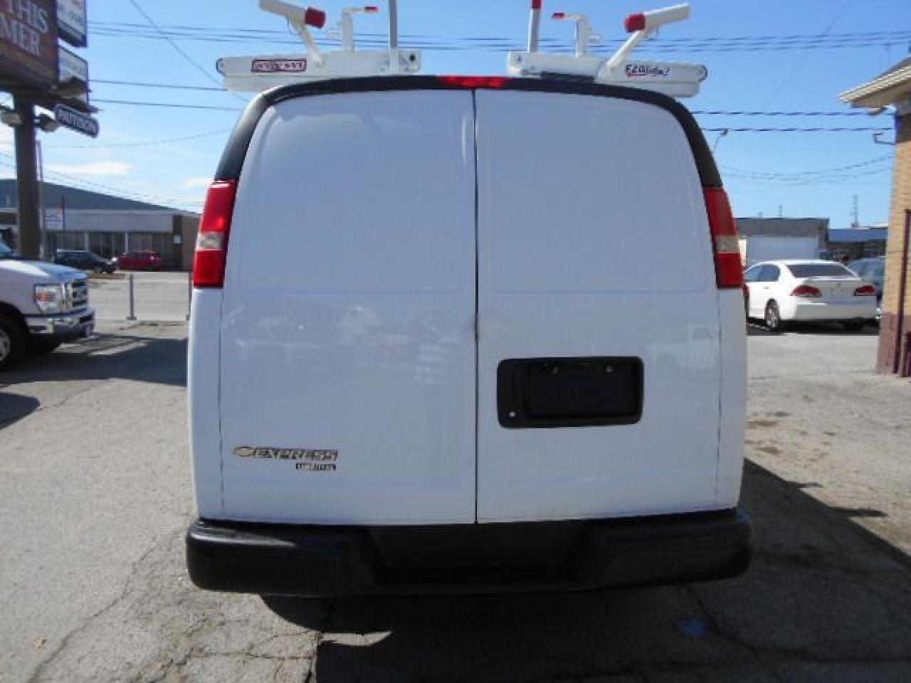 2014 Chevrolet Express 2500 2500HD Cargo 4.8L Ladder Rack Divider Shelves 164K