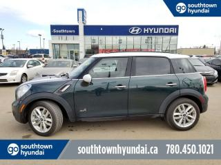 Used 2013 MINI Cooper Countryman S ALL4/AWD/LEATHER/SUNROOF/HEATED SEATS for sale in Edmonton, AB