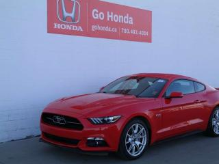 Used 2015 Ford Mustang GT, MANUAL, 50TH ANNIVERSARY for sale in Edmonton, AB