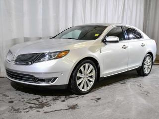 Used 2016 Lincoln MKS ECOBOOST | HEATED & COOLED FRONT SEATS | HEATED BACK SEATS | HEATED STEERING WHEEL | DUAL CLIMATE CONTROL | BACKUP CAMERA | LEATHER | REMOTE START | NAVIGATION for sale in Red Deer, AB