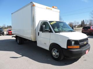 Used 2014 Chevrolet Express Diesel. New tires. 16' box for sale in Gorrie, ON
