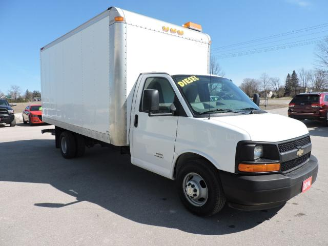 2014 Chevrolet Express Diesel. New tires. 16' box