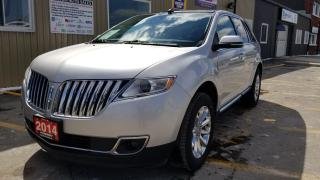 Used 2014 Lincoln MKX AWD-NAVIGATION-LEATHER-PWR ROOF-REMOTE START for sale in Tilbury, ON