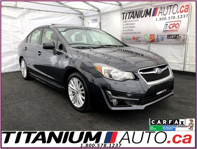 2015 Subaru Impreza SPORT AWD-Camera-EyeSight-Sunroof-Push Start-Radar