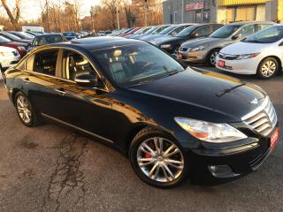 Used 2009 Hyundai Genesis TECH PKG/ NAVI/ CAM/ LEATHER/ SUNROOF/ ALLOYS! for sale in Scarborough, ON