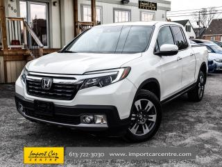 Used 2017 Honda Ridgeline Touring PERF.LEATHER VENTILATED SEATS BLIS WOW!! for sale in Ottawa, ON
