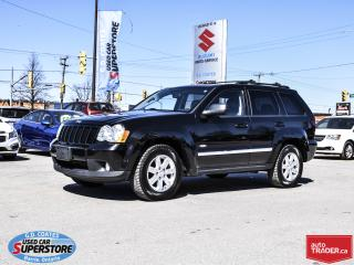 Used 2010 Jeep Grand Cherokee North 4x4 ~Heated Leather ~Power Moonroof for sale in Barrie, ON