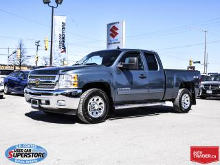 Used 2013 Chevrolet Silverado 1500 LT Extended Cab 4x4 ~VERY CLEAN ~MUST SEE! for sale in Barrie, ON