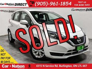 Used 2017 Nissan Versa Note 1.6 SV| BACK UP CAMERA| HEATED SEATS| for sale in Burlington, ON