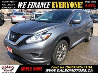 Used 2015 Nissan Murano SL for sale in Hamilton, ON