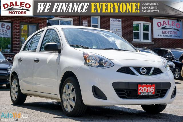 2016 Nissan Micra S | ONLY 28K! | FROM $90 BI-WEEKLY! (oac)