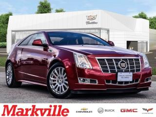 Used 2012 Cadillac CTS COUPE-LEATHER-ROOF-GM CERTIFIED-VERY CLEAN!!! for sale in Markham, ON