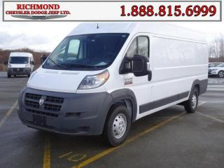 Used 2018 RAM 3500 ProMaster High Roof Extended 159 in. WB for sale in Richmond, BC