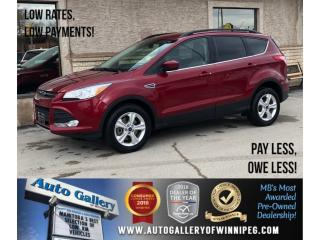 Used 2016 Ford Escape SE *AWD/Htd Seats/Bluetooth/Backup Cam for sale in Winnipeg, MB
