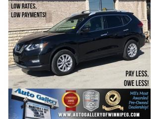Used 2017 Nissan Rogue SV *AWD/Bluetooth/Htd Seats/Roof for sale in Winnipeg, MB