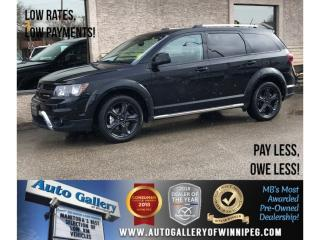 Used 2018 Dodge Journey Crossroad *DVD/Lthr/Roof/Navi/Bluetooth for sale in Winnipeg, MB