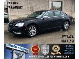 Used 2018 Chrysler 300 Limited *AWD/Lthr/Bluetooth/Navi/Roof for sale in Winnipeg, MB