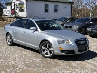 Used 2007 Audi A6 No- Accidents 3.2L Quattro AWD Leather Sunroof