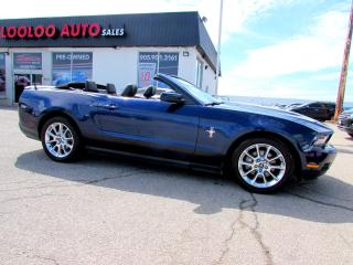 Used 2011 Ford Mustang V6 Convertible Automatic Bluetooth Certified 2YR Warranty for sale in Milton, ON