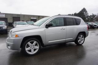 Used 2010 Jeep Compass Limited *1 OWNER*NO ACCIDENT* CERTIFIED 2YR WARRANTY LEATHER SUNROOF ALLOYS for sale in Milton, ON