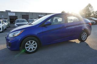 Used 2012 Hyundai Accent GLS SEDAN 6SPD *I OWNER*NO ACCIDENT* CERTIFIED 2YR WARRANTY CRUISE 2ND SET OF TIRES for sale in Milton, ON