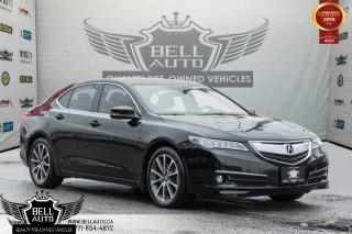 Used 2015 Acura TLX V6 ELITE PKG, AWD, BLIND-SPOT, NAVI, BACK-UP CAM, COOLED SEATS, REAR HEAT for sale in Toronto, ON