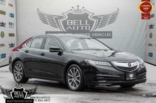 Used 2015 Acura TLX V6 TECH PKG, AWD, NAVI, BACK-UP CAM, MOONROOF, LEATHER for sale in Toronto, ON