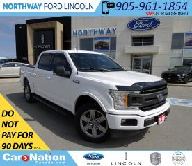 Used 2018 Ford F-150 XLT | NAV | BACKUP CAM | SPORT PKG | 20 WHEELS | for sale in Brantford, ON