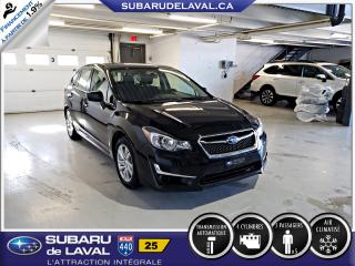 Used 2015 Subaru Impreza 2.0i Touring Awd Hatchback ** Caméra de for sale in Laval, QC
