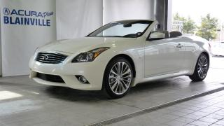 Used 2015 Infiniti Q60 SPORT CONVERTIBLE ** NAV ** for sale in Blainville, QC