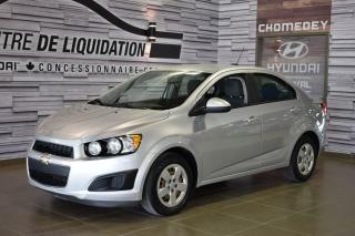 Used 2015 Chevrolet Sonic LS for sale in Laval, QC