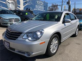 Used 2007 Chrysler Sebring Sdn Touring for sale in Toronto, ON