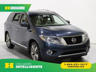 Used 2015 Nissan Pathfinder Platinum Awd Cuir for sale in St-Léonard, QC