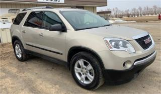 Used 2010 GMC Acadia SLE1 for sale in Brunkild, MB