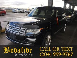 Used 2015 Land Rover Range Rover SC Autobiography for sale in Headingley, MB