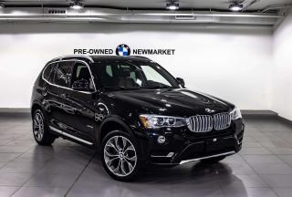 Used 2016 BMW X3 xDrive28i -1OWNER|NO ACCIDENTS|PANO SUNROOF| for sale in Newmarket, ON