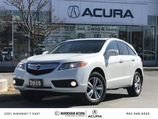 Used 2015 Acura RDX Tech at AWD, Winter Tires, Navi, Power Liftgate for sale in Markham, ON