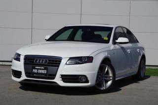 Used 2012 Audi A4 2.0T Prem Tiptronic qtro Sdn *Low Kms*S-Line* for sale in Vancouver, BC