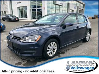 Used 2017 Volkswagen Golf 1.8 TSI Trendline Auto - Backup camera / Bluetooth for sale in PORT HOPE, ON