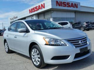 Used 2015 Nissan Sentra S w/keyless entry,cruise,bluetooth,power heated mirrors for sale in Cambridge, ON