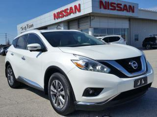 Used 2016 Nissan Murano SL AWD w/all leather,NAV,panoramic roof,heated seats,rear cam,memory drivers seat for sale in Cambridge, ON