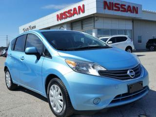 Used 2014 Nissan Versa NOTE SV w/keyless entry,power heated mirrors,sxm radio,rear cam for sale in Cambridge, ON