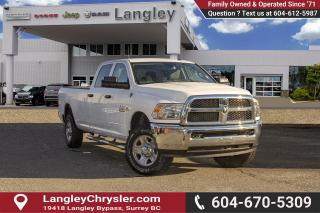 Used 2015 RAM 3500 ST *LONG BOX* SXT* for sale in Surrey, BC